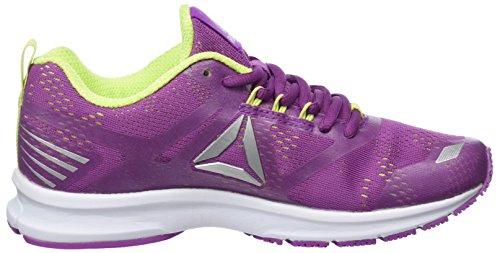 Flash Running Viola white Scarpe Reebok Violet silver electric Donna Runner Ahary vivacious qfgFtz