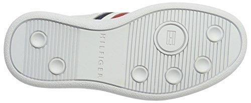 Garçon 2a White Hilfiger Sneakers Blanc D3285anny Basses Jr Tommy Y7Atfq