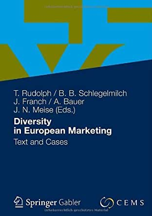 Amazon.com: Diversity in European Marketing eBook: Thomas