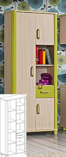 Kinderzimmer Schrank Grün