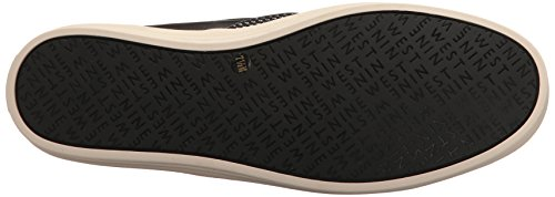 Nine West Kvinna Olsen Tyg Mode Sneaker Svart / Multi