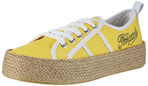 Mujer Amarillo Giallo giallo Fiorucci Fepd018 Zapatillas Para q6vxnTqPtw