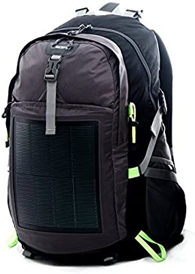 142ea77b92b1 HANERGY Professional Hiking Camping Solar Backpack with Built-in ...