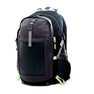 EnerPlex Backpack Solar Charger Panel Laptop Tablet Iphone Smartphone Green