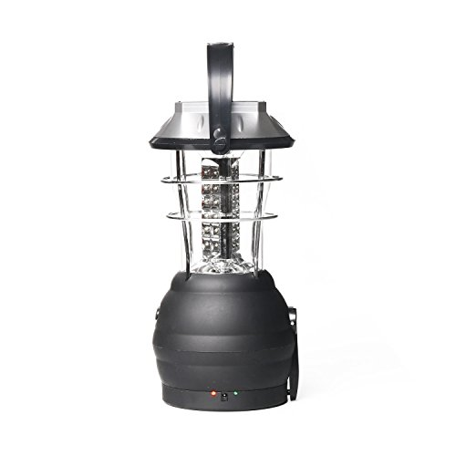 Ultra Bright LED Solar Lantern, 5 Charging Methods - 3 Br...