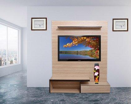 Buy Vaas Lcd Wall Unit Arakan Ivory Designed For Bedroom Living