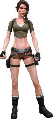 Neca Player - NECA Player Select Tomb Raider Laura Croft Action Figure