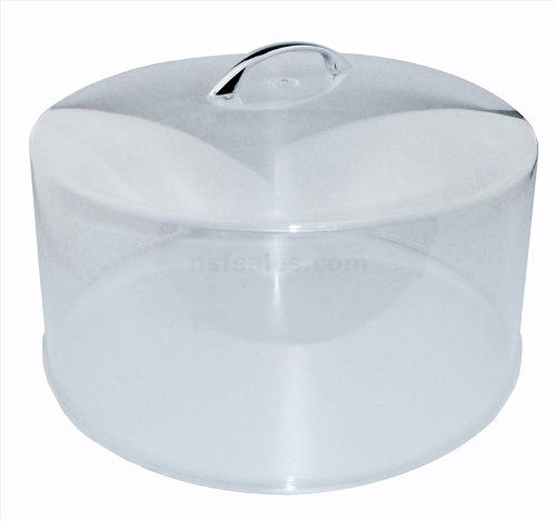 New Star Cake Cover with Handle, 12-Inch Diameter, Clear New Star Foodservice Inc. 24012