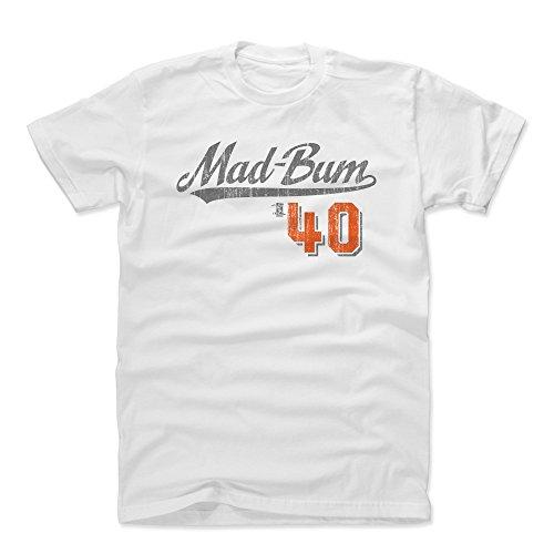 - 500 LEVEL Madison Bumgarner Cotton Shirt Medium White - San Francisco Baseball Men's Apparel - Madison Bumgarner Players Weekend S