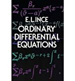 img - for (ORDINARY DIFFERENTIAL EQUATIONS) BY Ince, Edward Lindsay(Author)Paperback on (06 , 1956) book / textbook / text book