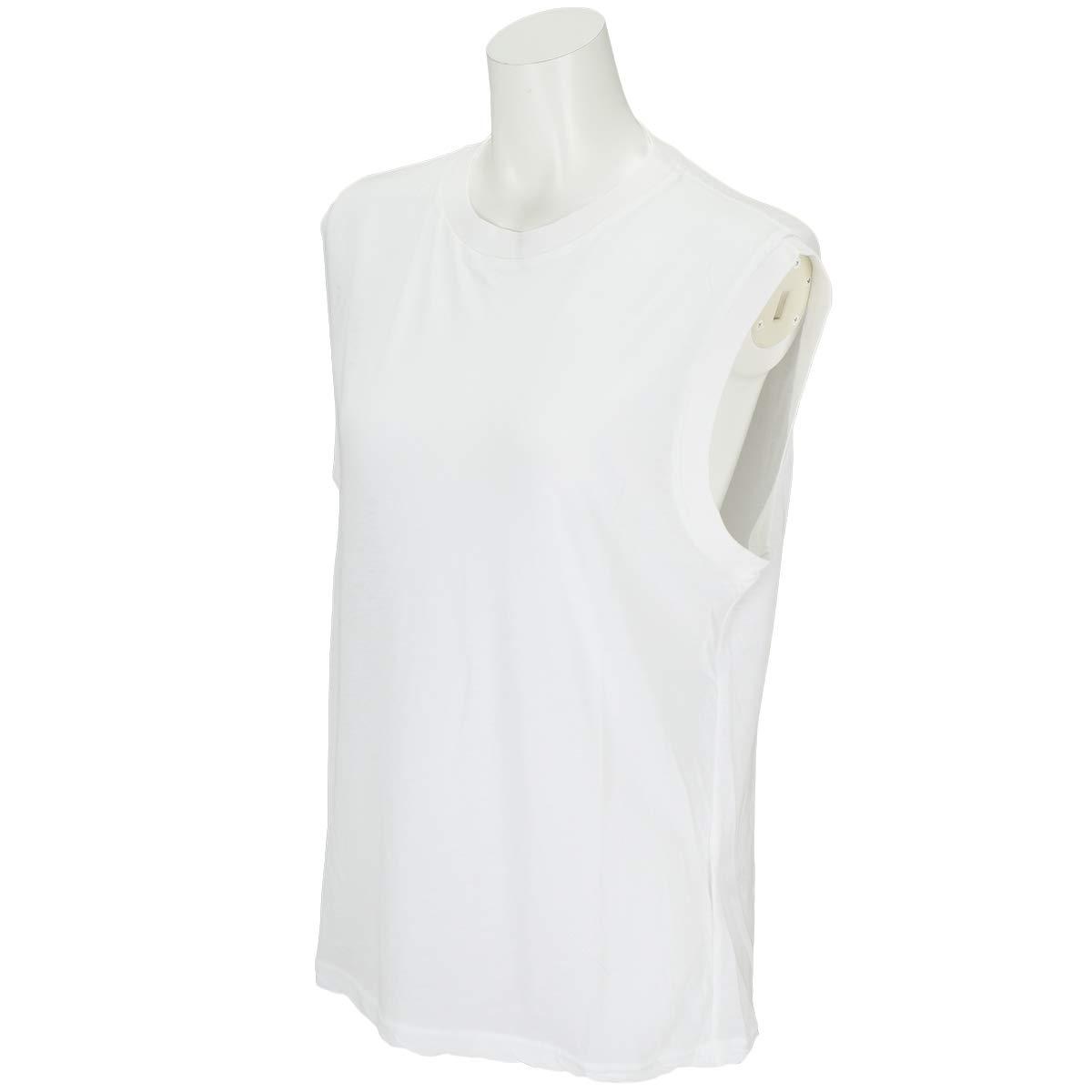 サンデーバンク SANDAY BANK. 半袖シャツポロシャツ フレスカ ノースリーブ Tシャツ レディス フリー ホワイト B07KPDFGD4