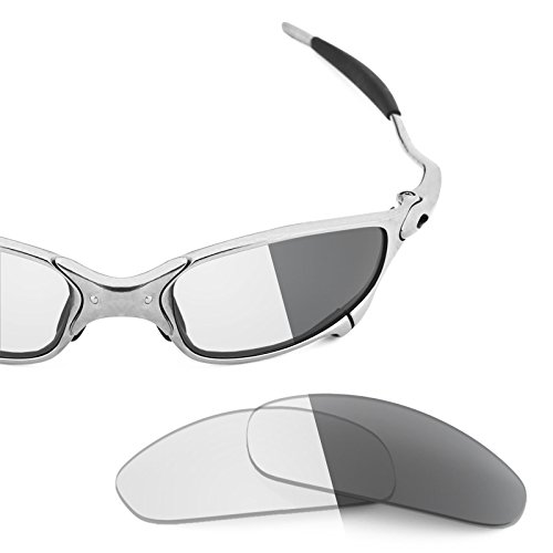 a60e6ce47d9 Revant Replacement Lenses for Oakley Juliet Elite Adapt Grey Photochromic   Amazon.co.uk  Clothing
