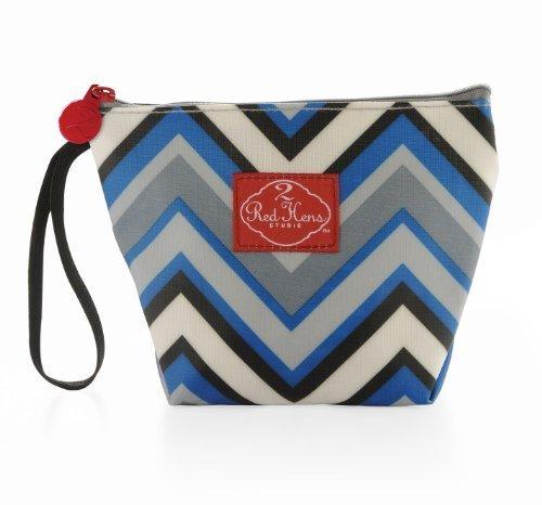 Make-Up Bag Color: Chevron Stripes by 2 Red Hens Studio [並行輸入品]   B01AL07AHE