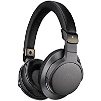 Audio-Technica ATH-SR6BT Over-Ear Bluetooth Headphones (Black) - Certified Refurbished