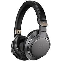 Audio-Technica ATH-SR6BTBK Wireless Over-Ear High Resolution Headphones, Black