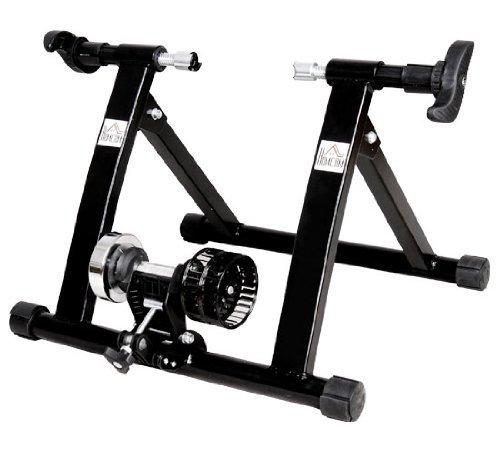 homcom Rollen/Heim-trainer Fahrrad Rennrad NEU, Schwarz, 5661-0058