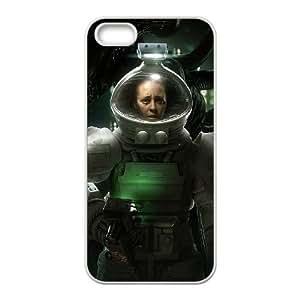 Alien Isolation 3 funda iPhone 4 4s caja funda del teléfono celular del teléfono celular blanco cubierta de la caja funda EVAXLKNBC34175