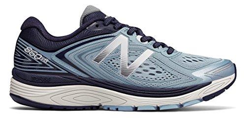 アリクレーンパネル(ニューバランス) New Balance 靴?シューズ レディースランニング 860v8 Clear Sky with Black スカイ ブラック US 6.5 (23.5cm)