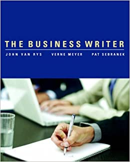 Book The Business Writer
