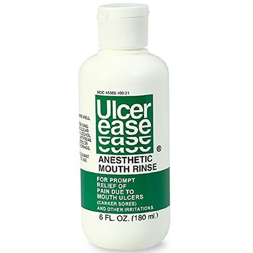 Mouth Rinse 6 Fl. Oz (180 Ml) by UlcerEase (Ulcerease Mouth)