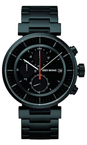 ISSEY MIYAKE Watch Men's W W Chronograph WADA Tomo Design SILAY002 Japan