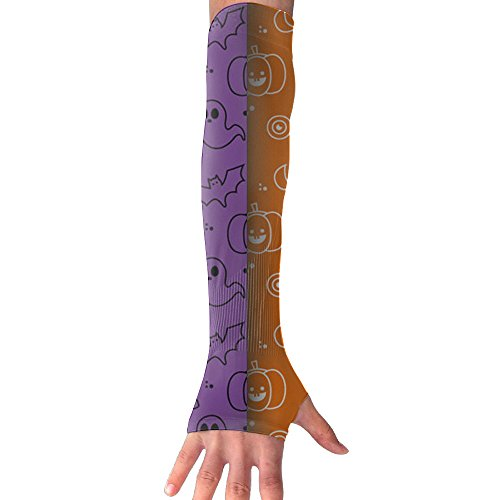 Halloween Sketch Arm Sleeves Unisex Sun Block Protection (1 Pair)