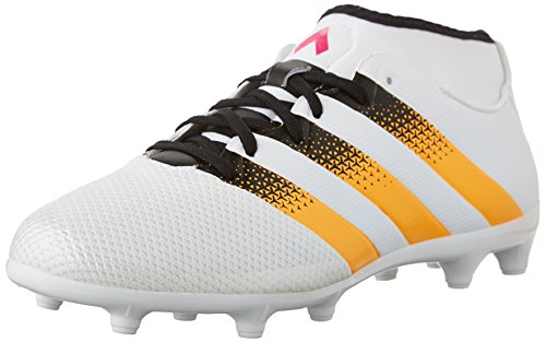 Adidas Performance Ace 16.3 Primemesh Fg/ag W Soccer Shoe,white/gold/shock Pink,5 M Us White/Gold/Shock Pink
