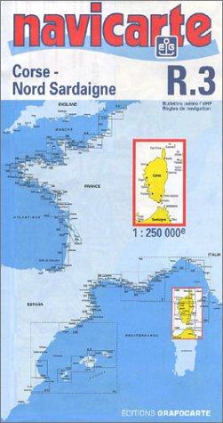 NAVICARTE Carte Marine Corse