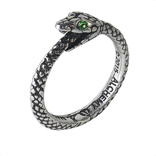 The Sophia Serpent Ring Ouroboros by Alchemy...