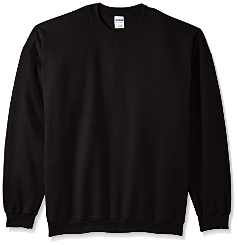 Gildan Lightweight Sweatshirt - Gildan Men's Big and Tall Fleece Crewneck Sweatshirt, Black XX-Large