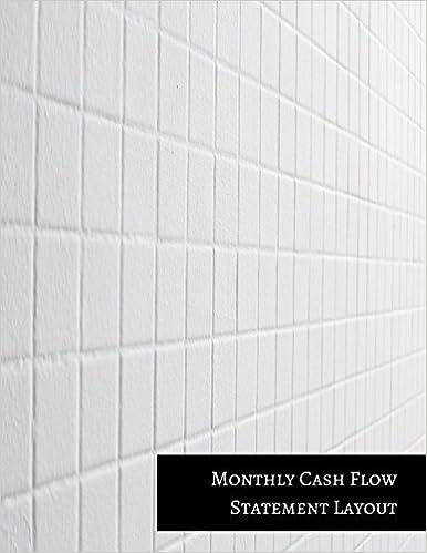 Monthly Cash Flow Statement Layout