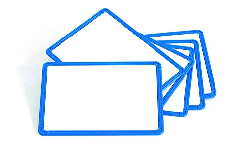 Learning Advantage 7859 Framed Metal Whiteboard Set Dry Erase Boards Pack Of 6