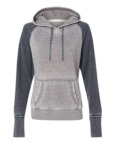 J. America Ladies ZEN Contrast Pullover Hood