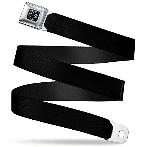 Buckle-Down Seatbelt Belt - Dodge Ram Black - 1.5