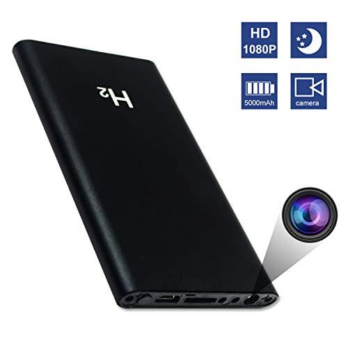 Spy Hidden Camera HD 1080P 5000mAh Power Bank Camera- Mini Security Wireless Camera-No WiFi Needed Nanny Camera