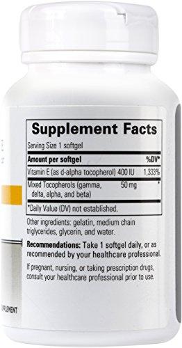 Integrative Therapeutics Vitamin E, 400 Iu, 60 Softgels