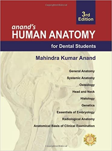Buy Anands Human Anatomy For Dental Students Book Online At Low
