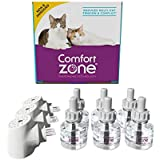 Comfort Zone Multi-Cat Diffuser Kit, Value Pack, for Cats and Kittens