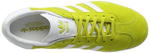 Unity Gazelle Ginnastica da Unisex Gold White Adulto adidas Scarpe Giallo Lime Met 0wqxtpdE