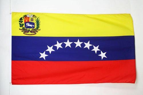 BANDERA de VENEZUELA 150x90cm - BANDERA VENEZUELANA 90 x 150 cm - AZ FLAG