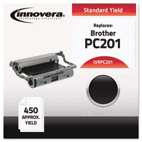 (Innovera PC201 Compatible/Remanufactured, Thermal Transfer, BK, Each (IVRPC201))