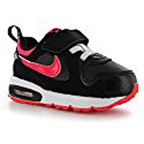 Nike Air Max Trax Tdv Black Hyper Punch White Girls Toddler Shoes