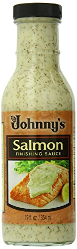 Johnny's Salmon Finishing Sauce, 12 Ounce (Pack