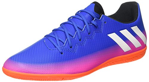 adidas Herren Messi 16.3 in Fußballschuhe Blau (Blue/ftwr White/solar Orange)
