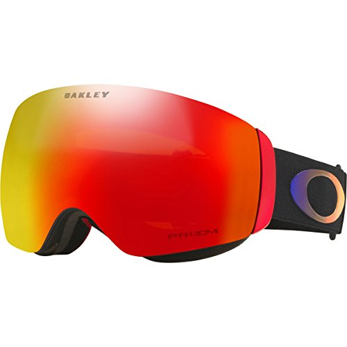 Oakley Flight Deck XM Snow Goggles, Prizm Halo Frame, Prizm Torch Iridium Lens, - Oakley Goggles Deck Flight