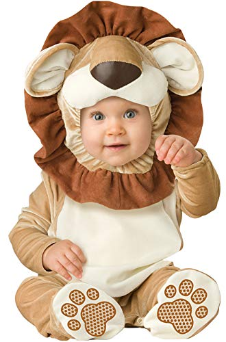 InCharacter Lovable Lion Infant Costume-X-Small (0-6) Brown ()