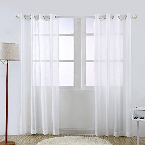 20 white tab top curtains amazon amazon fuchsia made to mea