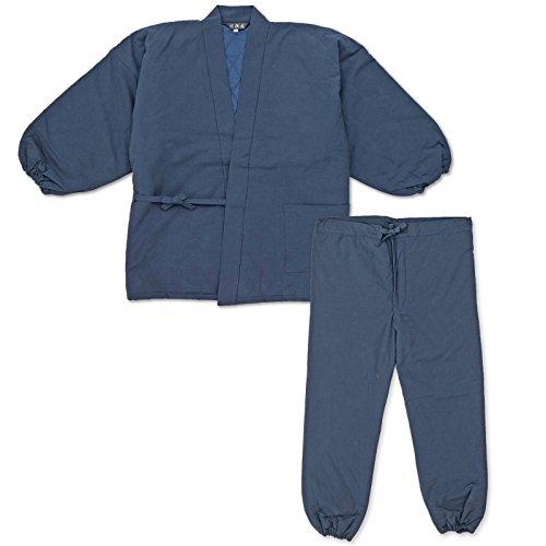 wasuian Men's Samue Quilt Work Clothes LL Dark Navy