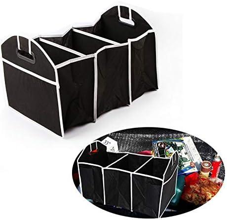 SteelFever Kofferraumtasche Kofferraum-Organizer mit Deckel Auto Kofferraum Organizer Deckel Auto Kofferraum Organizer