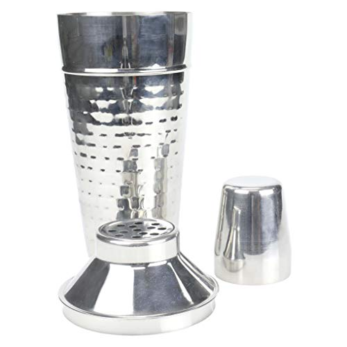 (Chef Craft 21963 Hammered Stainless Steel Cocktail Shaker Standard)